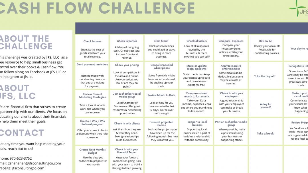 Cash Flow Challenge!